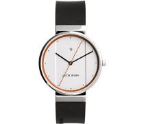 Herren-Armbanduhr Analog Quarz Kautschuk 32755
