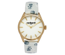 Damen-Armbanduhr Analog Quarz Leder CLD 012-1BB