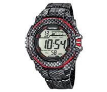 -Armbanduhr Digital Digital Plastik K5681/4