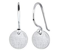 Damen-Ohrhänger Geo Kreis 925 Silber - 0304242117