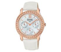 Damen Analog Quarz Uhr mit Leder Armband PP6238X1