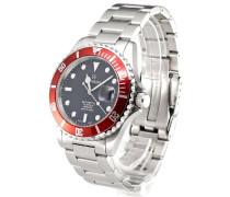 Armbanduhr XL Diver Analog Automatik Edelstahl 1571.2136-SW
