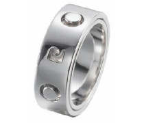 Unisex-Ring Pirouette Homme Sterling-Silber 925