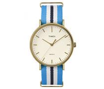 Erwachsene Armbanduhr Analog Quarz Nylon TW2P91000
