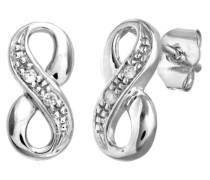 Damen-Ohrring 9 Karat 375 Weißgold PE01783W