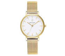 Analog Quarz Uhr mit Edelstahl Armband 093L508