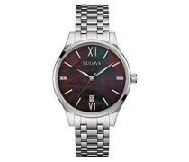 Armbanduhr Diamonds Analog Quarz Edelstahl 96S162