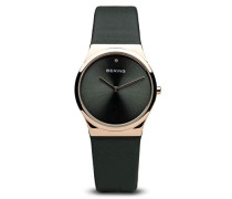 Damen-Armbanduhr Analog Quarz Leder 12130-667