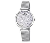 Analog Quarz Uhr mit Edelstahl Armband 18564/1