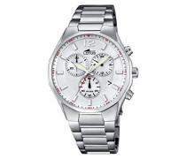 Herren-Armbanduhr Analog Quarz Edelstahl 10125/1