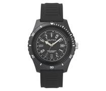 Analog Quarz Uhr mit Silikon Armband NAPIBZ007