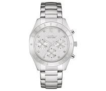 Armbanduhr Chronograph Quarz Edelstahl 43L190