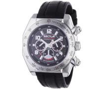 Armbanduhr XL Race Chronograph Leder R3271660225