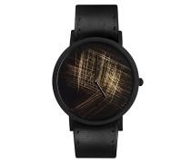 Unisex -Armbanduhr  Analog  Quarz Leder 8711.0