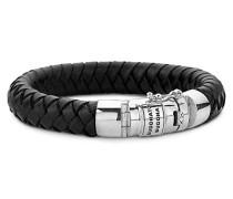 Ben Leder Armband Schwarz 001j055440312
