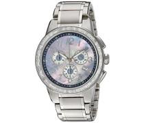 Armbanduhr Chronograph Quarz Edelstahl 2094.9735
