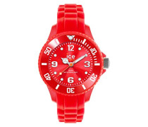 ICE forever Red - Rote Jungenuhr mit Silikonarmband - 000795 (Extra Small)