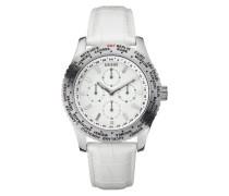 Herren-Armbanduhr XL Analog Leder W12082G2