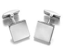 Sterling Silber Einfache Viereckige Manschettenknöpfe