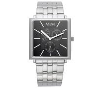 Armbanduhr Analog Quarz Edelstahl M11702-125