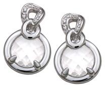 Ohrringe 925 Sterlingsilber mit Zirkonia ZO-5905