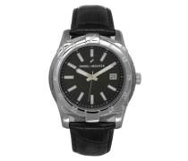 Herren-Armbanduhr Analog Quarz Leder DHH 006-AA