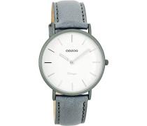 Damen Digital Quarz Uhr mit Leder Armband C7748