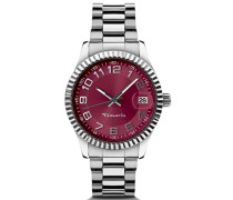 Damen-Armbanduhr Analog Quarz B07000350