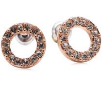 Jewelry Ohrstecker aus der Serie Classic roségold beschichtet weiß 1.0 cm 611314013
