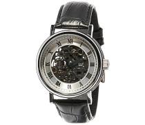 Erwachsene Analog Automatik Smart Watch Armbanduhr mit Leder Armband ES-8806-01