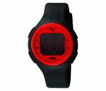 Active Herrenuhr PULS BLACK RED A.PU910541002