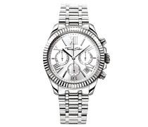 Armbanduhr Divine Chrono Silber Analog Quarz