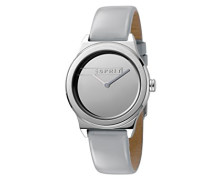 Analog Quarz Uhr mit Leder Armband ES1L019L0025
