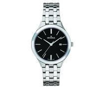 Datum klassisch Quarz Uhr mit Edelstahl Armband 5016.1137