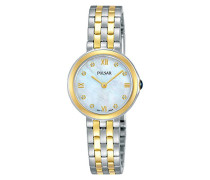 Analog Quarz Uhr mit Edelstahl Armband PM2244X1