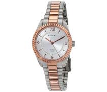 Analog Quarz Uhr mit Edelstahl Armband 12230625