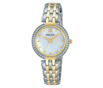 Armbanduhr Analog Quarz Edelstahl beschichtet PH8166X1