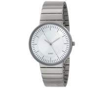 Armbanduhr Analog Quarz Edelstahl silber AL8000