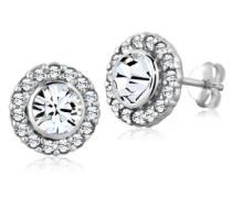 Ohrstecker 925 Sterling Silber Swarovski-Kristall weiß 0310730113