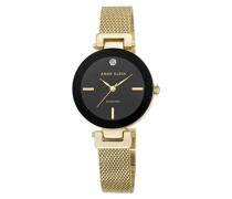 Analog Klassisch Quarz Uhr mit Edelstahl Armband AK/N2472BKGB