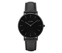 Damen Analog Quarz Uhr mit Leder Armband CLA002
