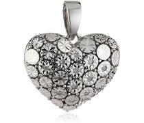 Anhänger 925 Sterling Silber 12x Diamanten 0.07 ct. 312240012