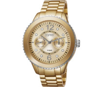Armbanduhr Marin Speed Analog gold ES105802005