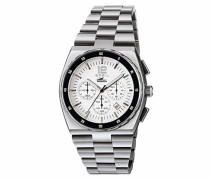 Chronograph Quarz Uhr mit Edelstahl Armband TW1541