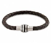 Damen Armband Titan Leder 21.0 cm 0347-0921