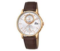 Herren-Armbanduhr Analog Quarz Leder 18324/1