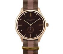 Lars-Larsen 122GSSN Armbanduhr analog Stoff