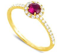 Ring 18 Karat Gelbgold