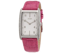 ! Damen-Armbanduhr Analog Quarz Leder JP101012F02
