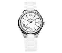 Armbanduhr Analog Quarz Premium Keramik Diamanten - STM15Y2